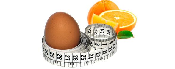 Яично-апельсиновая диета на четыре недели