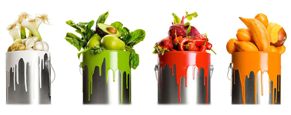 Достоинства цветной диеты