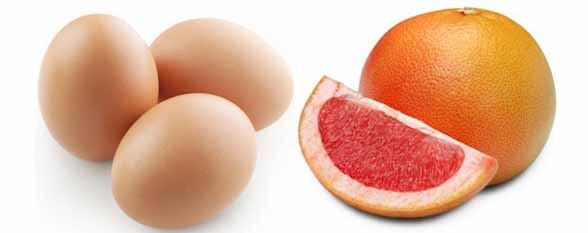 Варианты яично-грейпфрутовой диеты