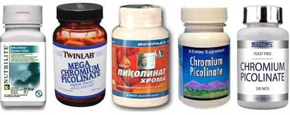 Как действует пиколинат хрома для похудения