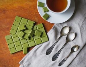 Шоколад с зеленым чаем