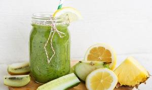 Зеленый коктейль для похудения рецепт